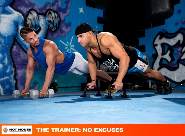Hot House: What an intense workout with hunks Sean Zevran and Skyy Knox!