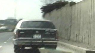Pipe bien profonde dans une limousine