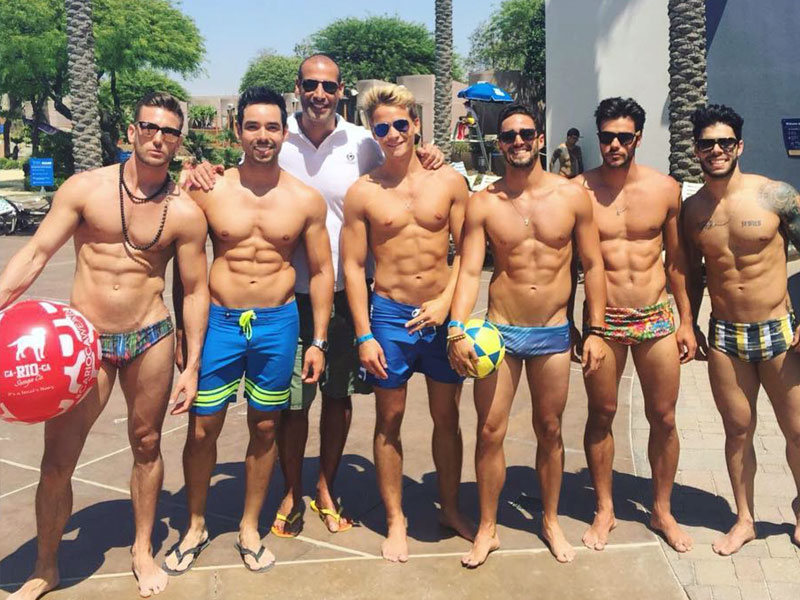 Gay beach boys in Rio