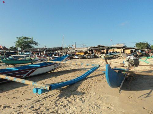 Jimbaran Beach - Fishing Boats