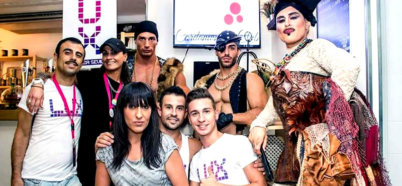 Cardamoma's Club gay bar Seville