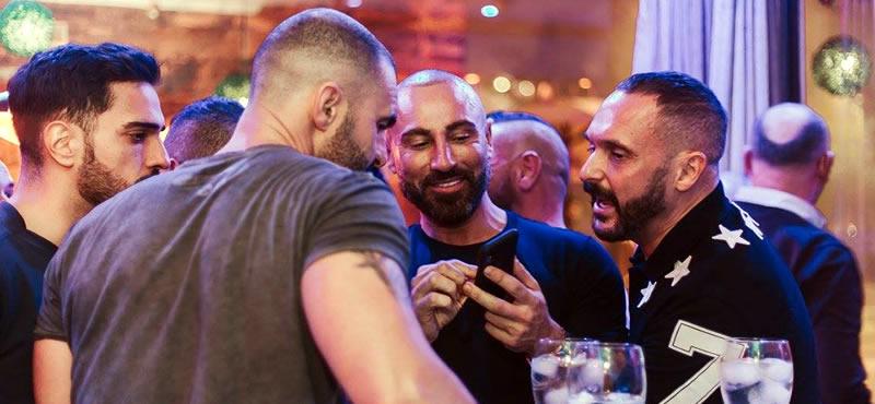 Mentiroso café bar gay bar Seville