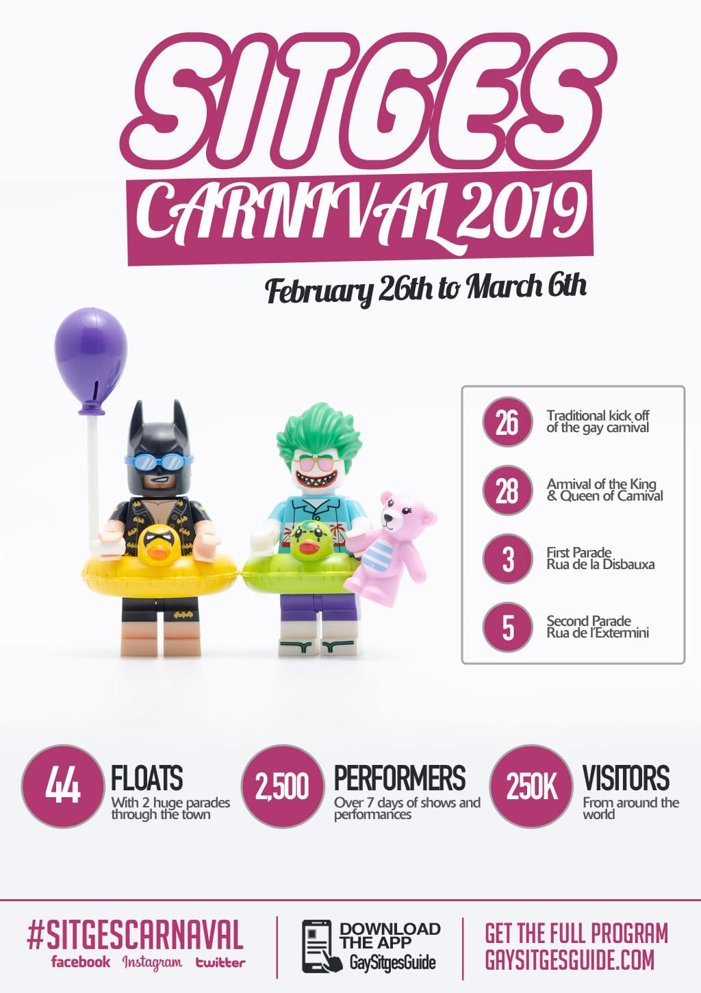 Sitges Carnival 2019 - By the numbers!