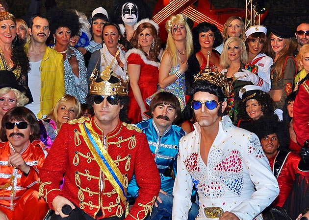 Arrival of the King of Sitges Carnival