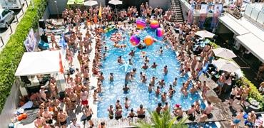 Sitges Pride Pool parties