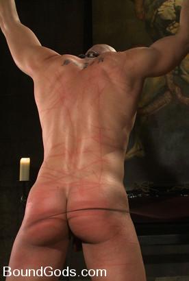 caned male bottom