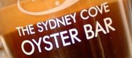 Sydney Cove Oyster Bar restaurant Sydney