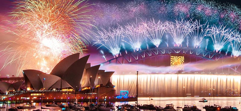 New years Eve in Sydney