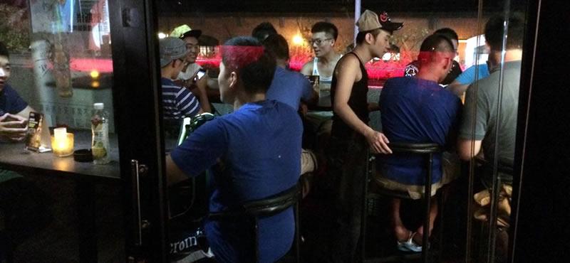 Commander, Taipei gay bar