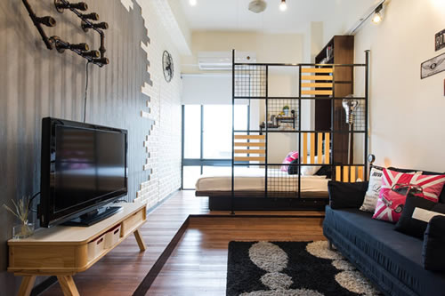Industrial Style Apartment in Taipei