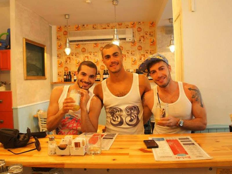 Tel Aviv Gay Cafe