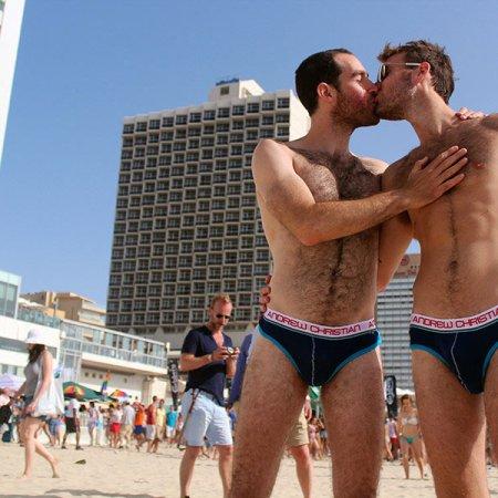 Tel Aviv gay beach