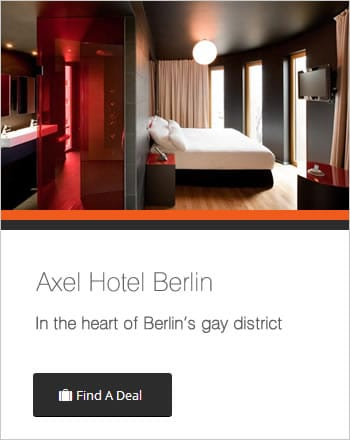 from Saul gay leather hotels berlin