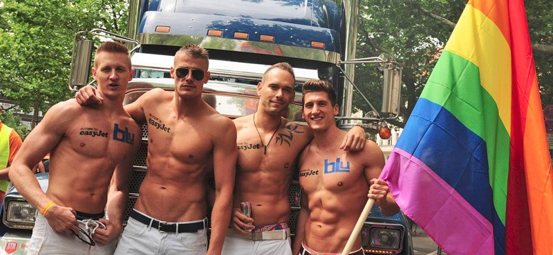 Berlin Gay Pride 2020 Sexy and Big just the way we like it.