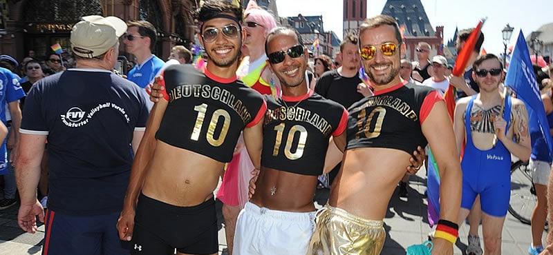 Frankfurt Gay Pride 2019 Hot german guys in a city that