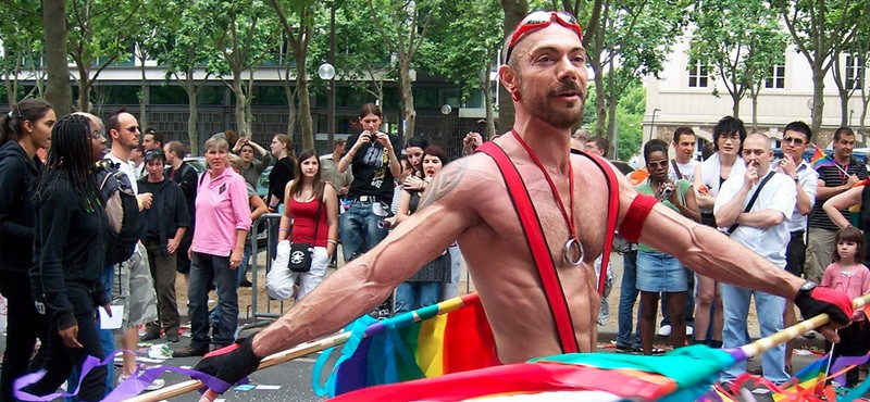 Home pictures and Paris Gay Pride Parade route