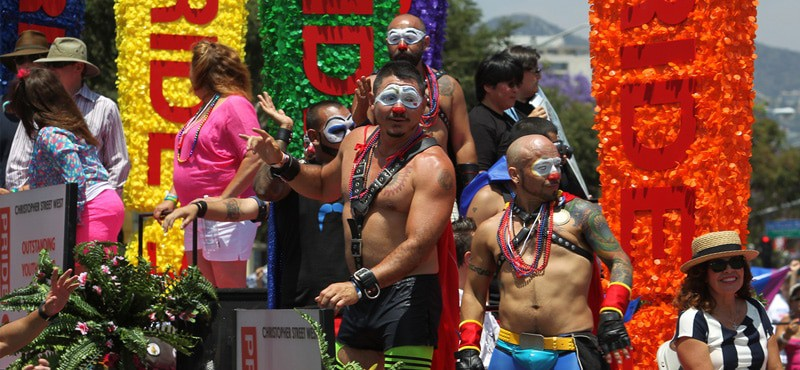 from Adrien angeles gay latino los pride