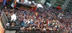 Crowds at the Sao Paulo Gay Pride