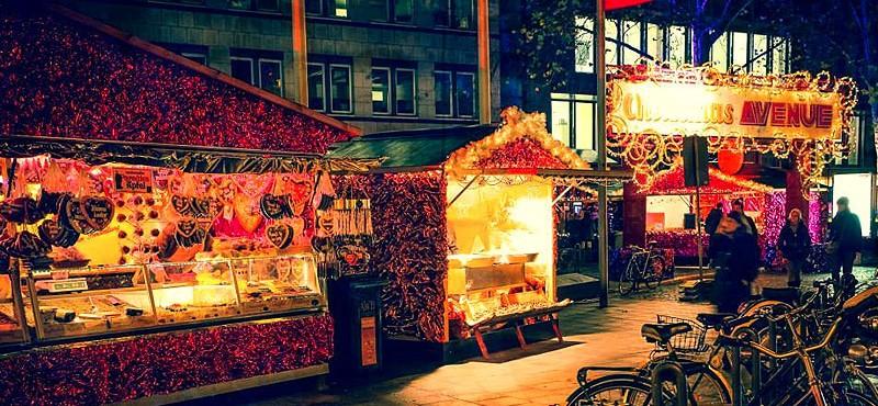 Cologne Christmas Avenue Shopping