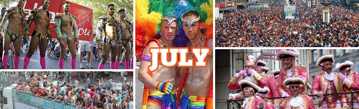 Gay Events in July