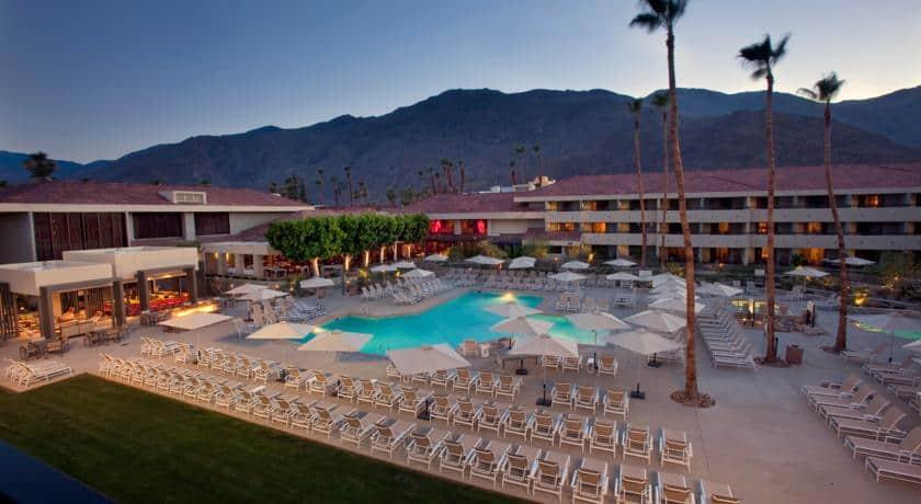 During pride week, most of the Palm Springs gay resorts