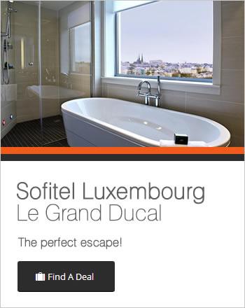 The Sofitel Luxembourg