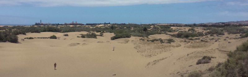 Die Dünen von Maspalomas - Weg zum Strand und Cruisingarea