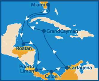 Tropical Americas Route