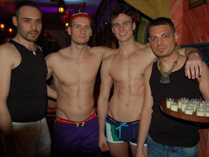 Mexico city's gay subway in pictures