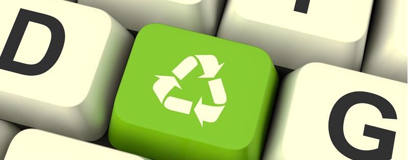környezetbarát betűtípus