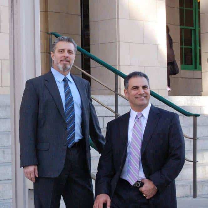 Las Vegas Injury & Accident Attorneys: Lewis Gazda (left) & Afshin Tadayon (right)