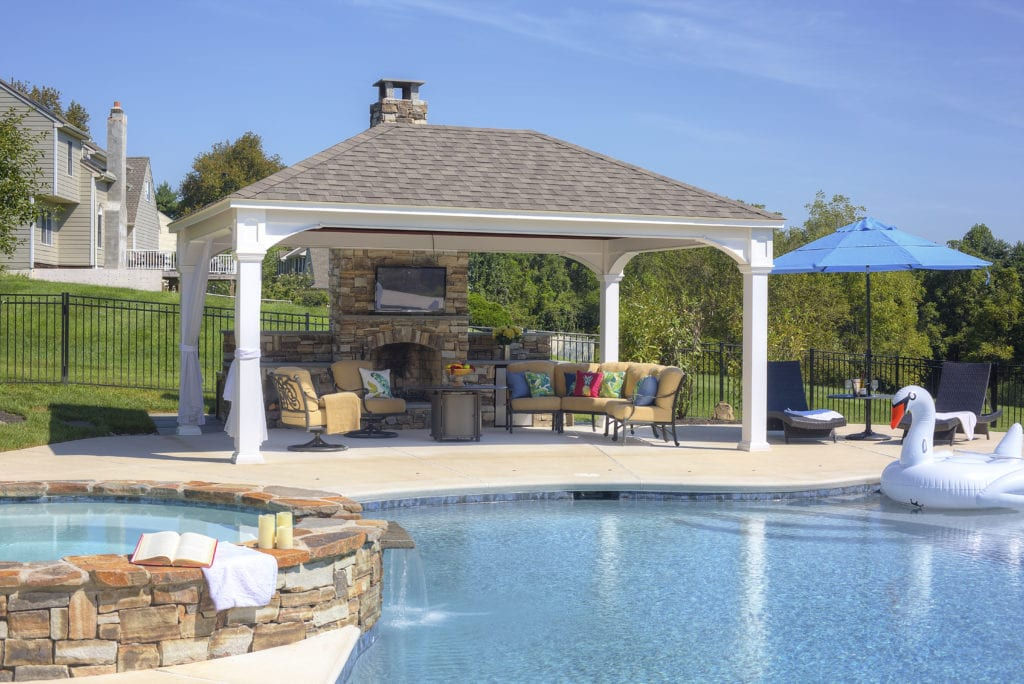 poolside structures country lane gazebos