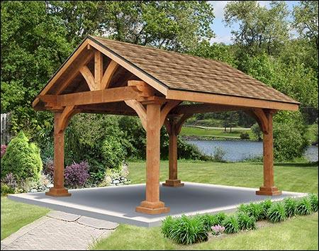 Rough Cut Cedar Gable Roof Ramadas Ramadas By Roof Type