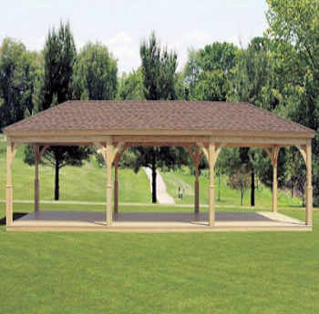 Gazebo Depot Wood Pavilion Wood Pavilion Woodpavilion