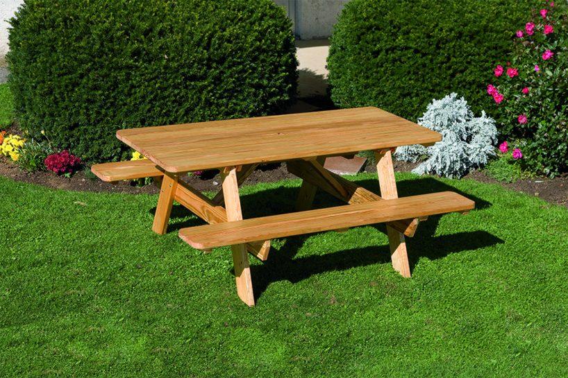 Marvelous Wood Rectangle Picnic Table Ibusinesslaw Wood Chair Design Ideas Ibusinesslaworg