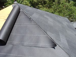 Re use the diagonal cut on the other side of the roof