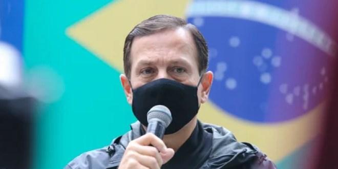 """Queiroga diz a Doria que a vacinação de São Paulo está adiantada devido a atuação do governo Bolsonaro e governador dispara: """" que recalque Ministro"""""""