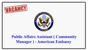 Public Affairs Assistant ( Community Manager ) - American Embassy