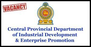 Central Provincial Department of Industrial Development & Enterprise Promotion