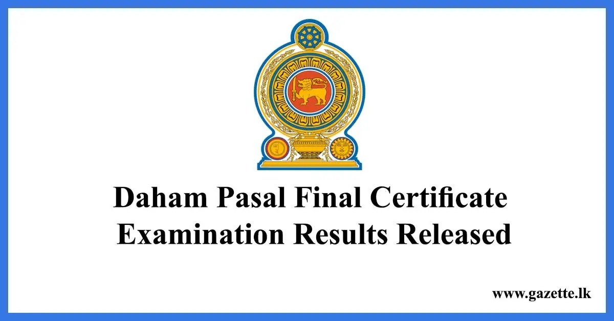 Daham-Pasal-Final-Certificate-Examination-Results-Released---results.exams.gov.lk