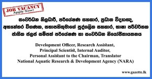 Development-Officer,-Research-Assistant--NARA