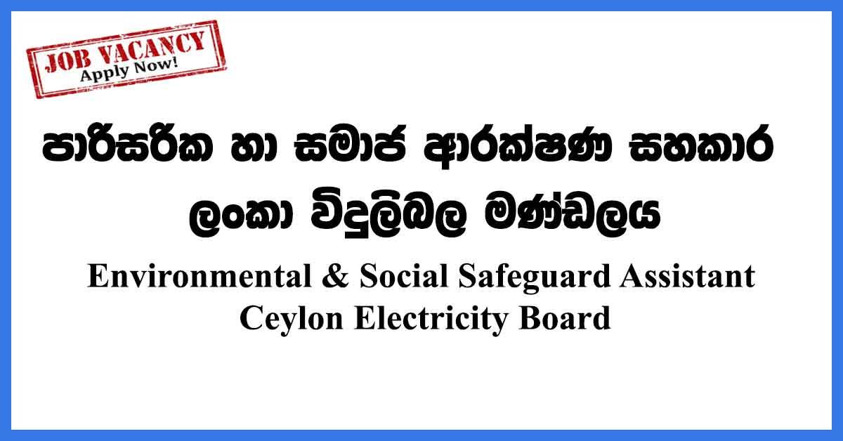 Environmental-Social-Safeguard-Assistant