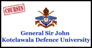 General Sir John Kotelawala Defence University