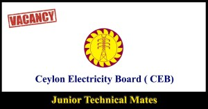 Junior Technical Mates - Ceylon Electricity Board ( CEB)
