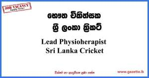 Lead-Physioherapist