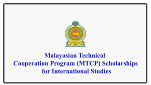 Malayasian Technical Cooperation Program (MTCP) Scholarships for International Studies