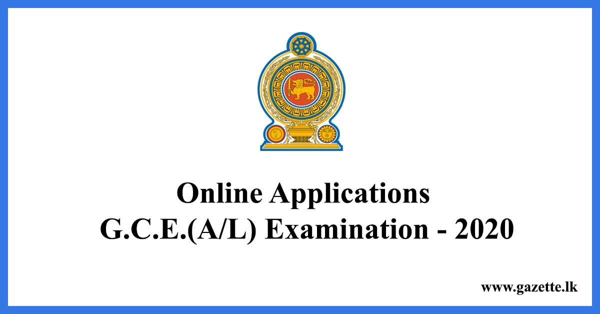 Online-Applications-G.C.E.AL-Examination---2020