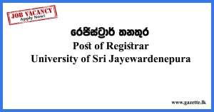 Post-of-Registrar