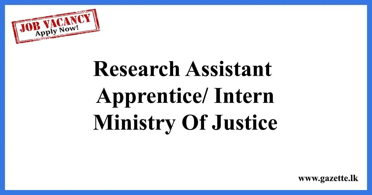 Research-Assistant-Ministry-of-Justice