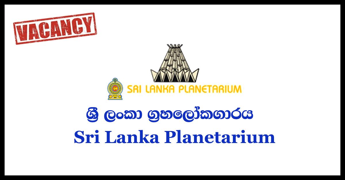Astronomy Demonstrator - Sri Lanka Planetarium 2018